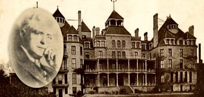 In 1937, Norman Baker bought the aging Crescent Hotel in Eureka Springs, AK for the purpose of opening a cancer hospital and health resort. He advertised miracle cures that required neither surgery nor painful extensive tests; however, he had been scamming people for years. He had no medical training and was convicted in Iowa for practicing medicine without a license. Baker was again convicted of fraud and spent 4 years in Leavenworth prison. Many of his patients still haunt the Crescent…