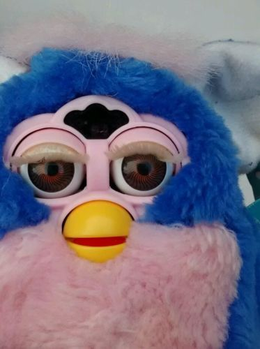 Furby Babies Blue And Pink Furby Original Rare Autumn