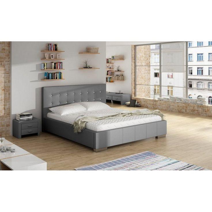 Łóżko tapicerowane Salsa