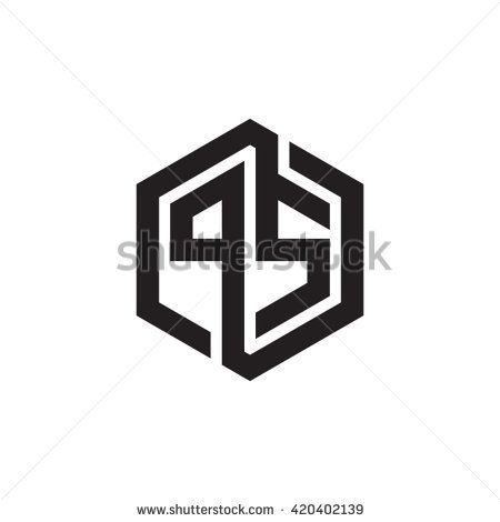 stock-vector-ps-initial-letters-looping-linked-hexagon-monogram-logo-420402139.jpg (450×470)