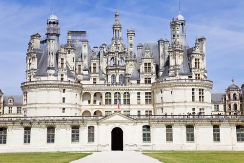 The Château de Chambord, one France's most recognizable castles, is in Loir-et-Cher, France.