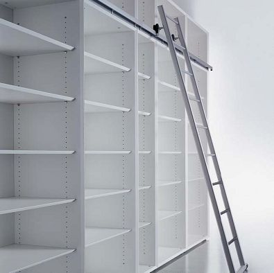309 migliori immagini progetti architettura su pinterest - Scale per librerie ...