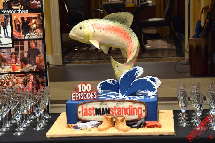 """Set Visit, Cast Interviews and a Trout Cake to Celebrate 100 Episodes of ABC's Comedy """"Last Man Standing"""" with Cast and Creators #LastManStanding #Video #Interviews #Photos  Read more at: http://www.redcarpetreporttv.com/2016/01/13/set-visit-cast-interviews-and-a-trout-cake-to-celebrate-100-episodes-of-abcs-comedy-last-man-standing-with-cast-and-creators-lastmanstanding-video-interviews-photos/"""