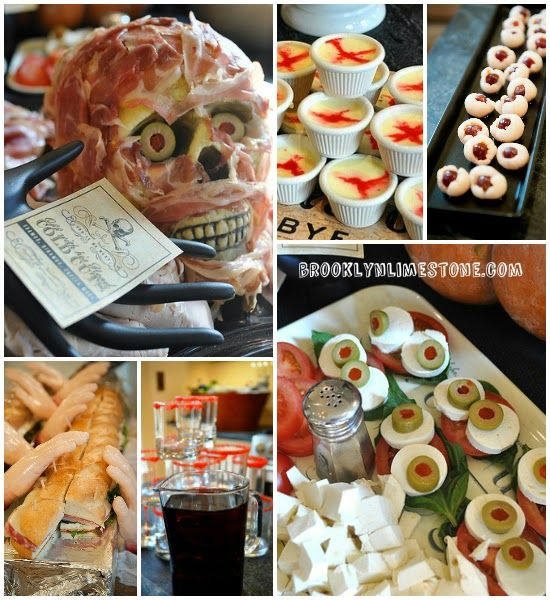 the boo ffet 6 easy halloween party foods - Halloween Buffet Food Ideas