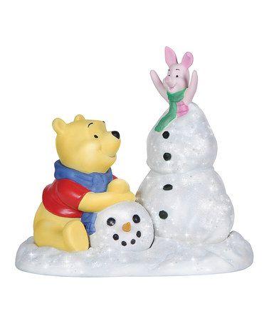 Love this Pooh & Piglet Figurine on #zulily! #zulilyfinds $35