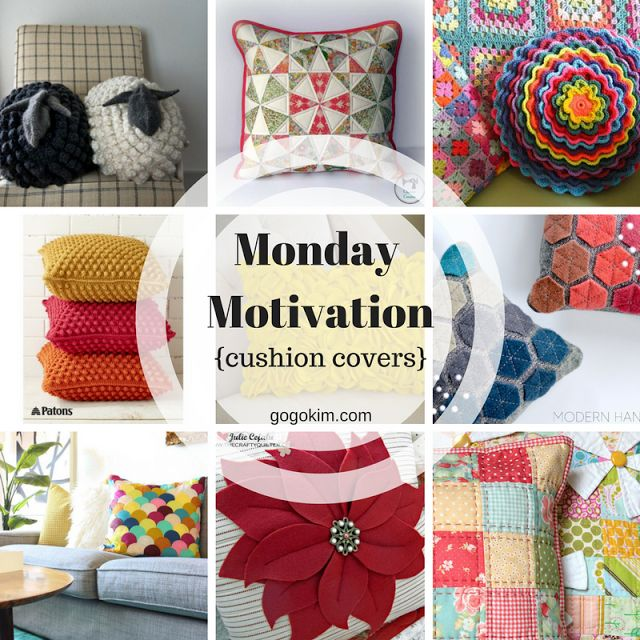 Monday Motivation Cushion Covers