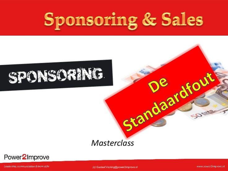 Masterclass Sponsoring & Sales, www.power2improve.com/mensen/#besturen