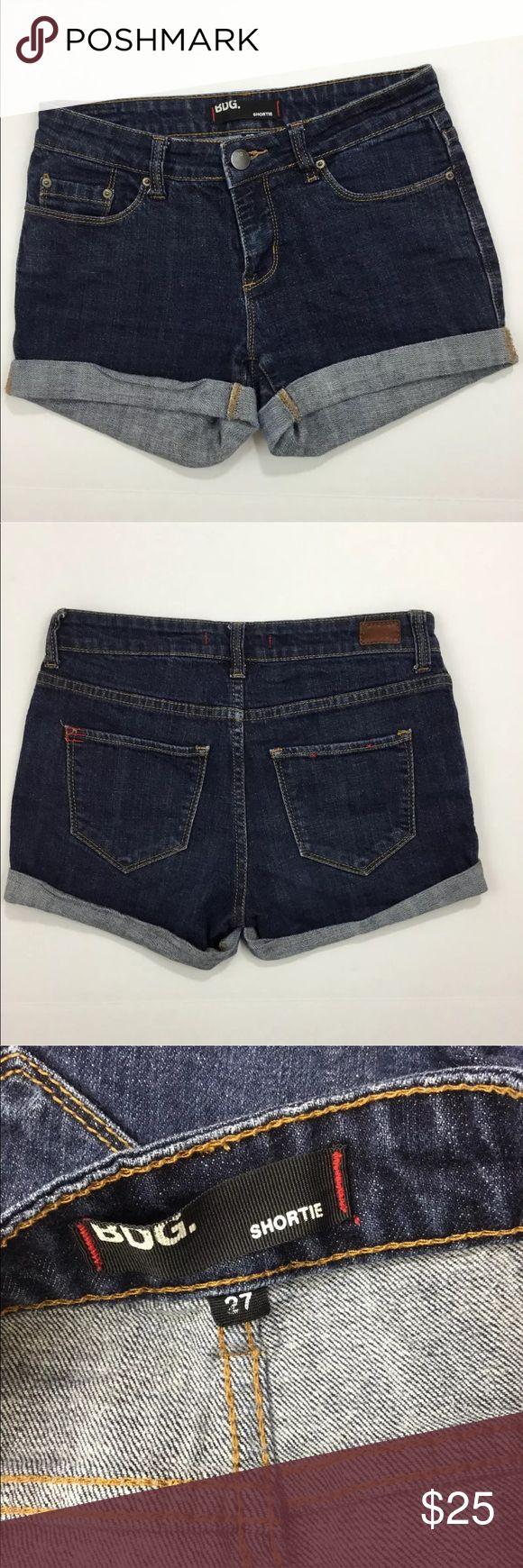 """BDG Shortie Jean Shorts Urban Outfitters Denim Cute casual BDG Shorties!  Waist: 30"""" Inseam: 3"""" Hips: 34"""" Thigh: 20"""" Rise: 7"""" X50E BDG Shorts Jean Shorts"""