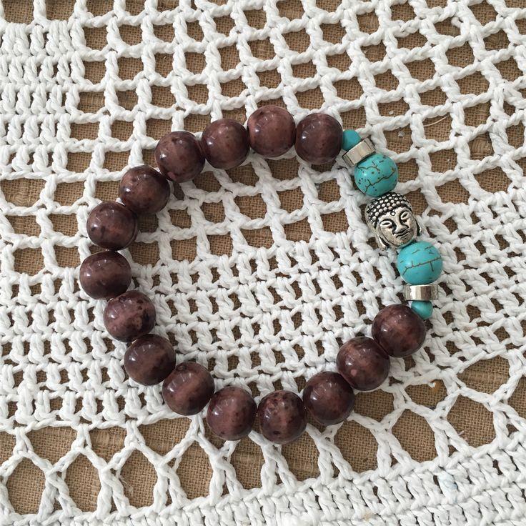 Azl Design Summer 2017 collection/ Buddha bracelet 30 $
