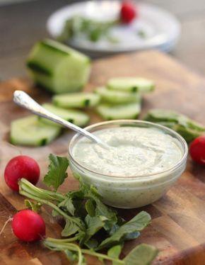 receta de Salsa de yogur para ensaladas