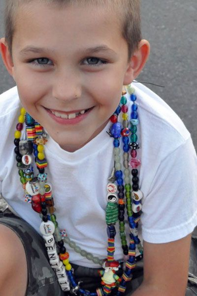SoftFlexGirl: Spotlight on... Beads of Courage, great organization - Um, this is my nephew.  I never thought I'd find a pin that was someone in my family!