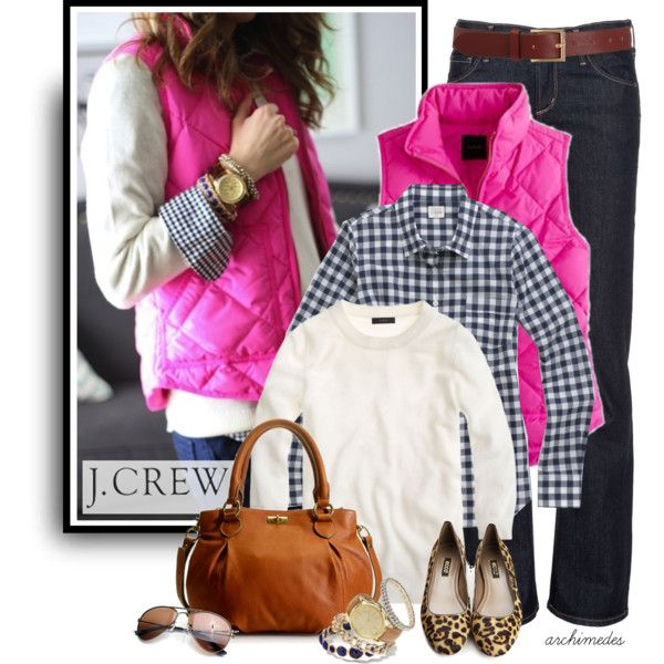 J.Crew Vest, created by archimedes16 on Polyvore