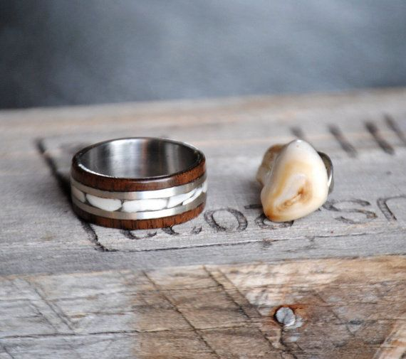 Country jewelry and Antler ring