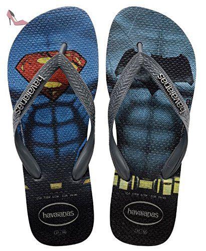 Havaianas Imprimee Tongs Homme Batman V Superman Noir/Gris-EU :43/44-BR:41/42 - Chaussures havaianas (*Partner-Link)