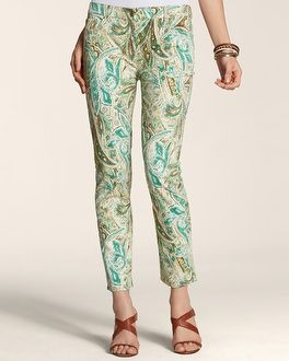 Chico's Exotic Paisley Skimmer #chicos