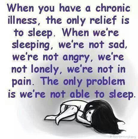 it's so difficult to get a good night's sleep. pain. wakefulness, no respite waaahhhhh