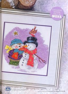 Country Companions Snowy Christmas Companions The World of Cross Stitching Issue 144 Christmas 2008  Saved