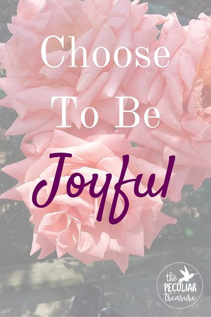 The Peculiar Treasure: 3 Steps Towards a More Joy-filled Life