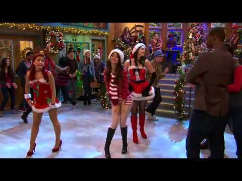 Victoria Justice, Ariana Grande, Elizabeth Gillis e Leon Thomas III -   It's Not Christmas Without You