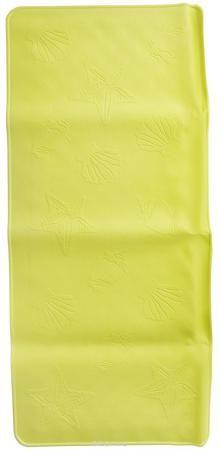 Roxy-kids Антискользящий коврик для ванны, цвет: желтый, 34 см х 74 см  — 561р.  Антискользящий коврик для ванны Roxy-kids создан специально для детей и призван обеспечить комфортное и безопасное купание малышей в ванне. Он обладает целым рядом важных преимуществ. Мягкие присоски надежно прикрепляют коврик ко дну ванны и не дают ему скользить по ее поверхности, как бы активно ни двигался малыш. Специальное покрытие препятствует скольжению ног или тела ребенка по коврику. Поверхность коврика…