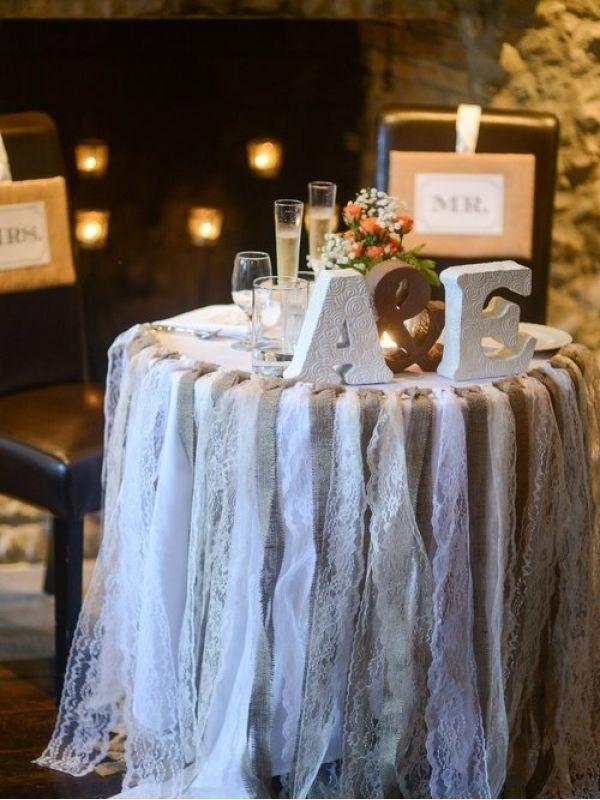 Used Shabby Chic Wedding Decorations : Shabby chic wedding reception found on ruffled weddings