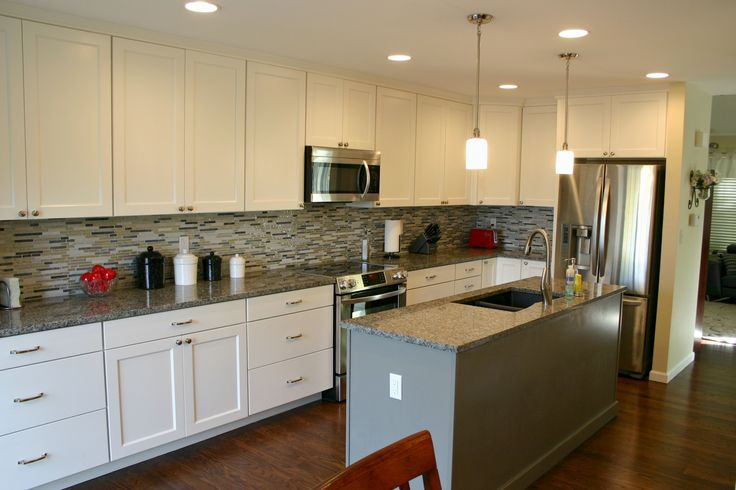 Bkc kitchen and bath kitchen remodel mid continent - Mid continent cabinets ...