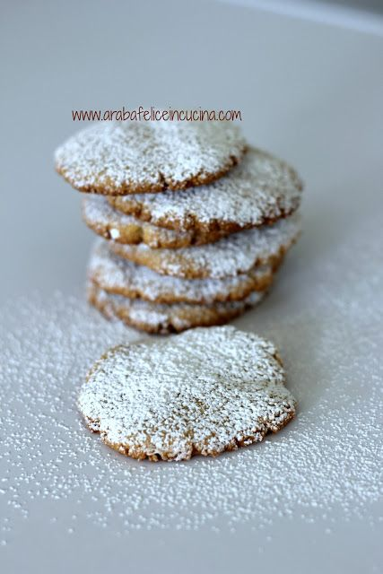 Arabafelice in cucina!: Biscotti ...senza tempo e senza niente (gluten free, vegan, senza uova nè lattosio)