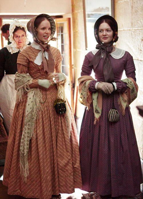 Tamzin Merchant & Holliday Grainger in'Jane Eyre' (2011).