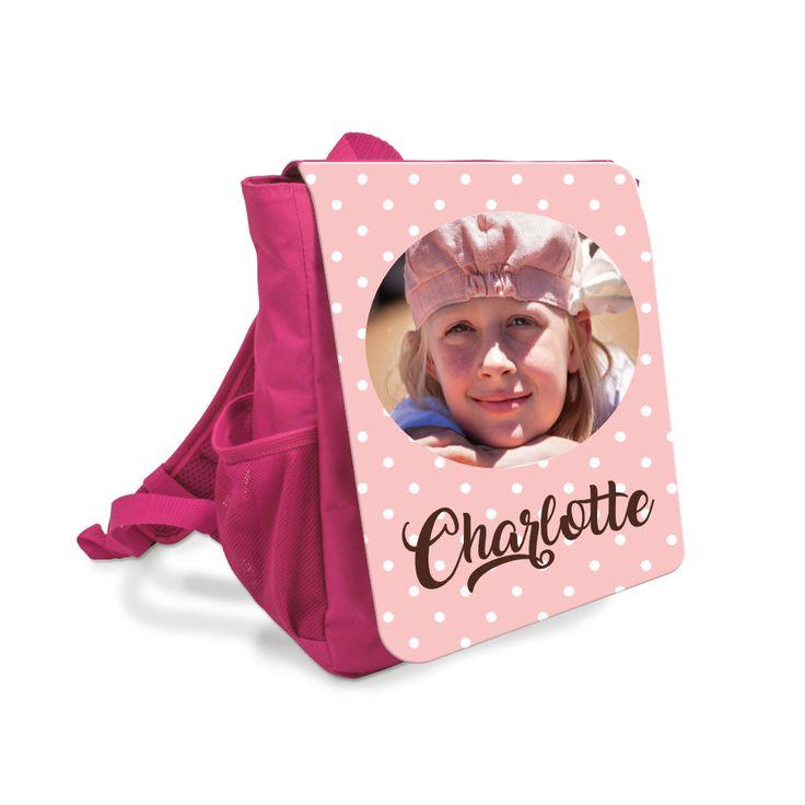 Liebevoll personalisierter Rucksack für zauberhafte Mädchen. Individuell besonders!