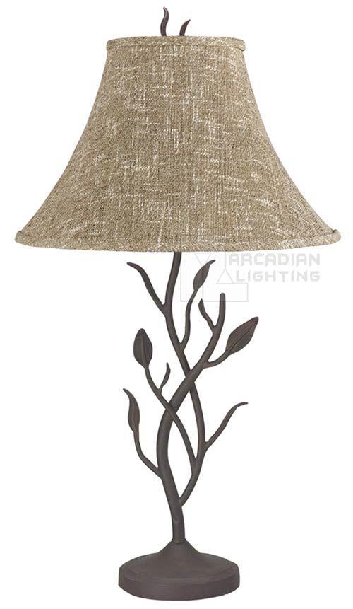 Cal Lighting BO-768 Craftsman Wrought Iron Table Lamp BO-768