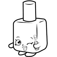 Shopkins Coloring Page