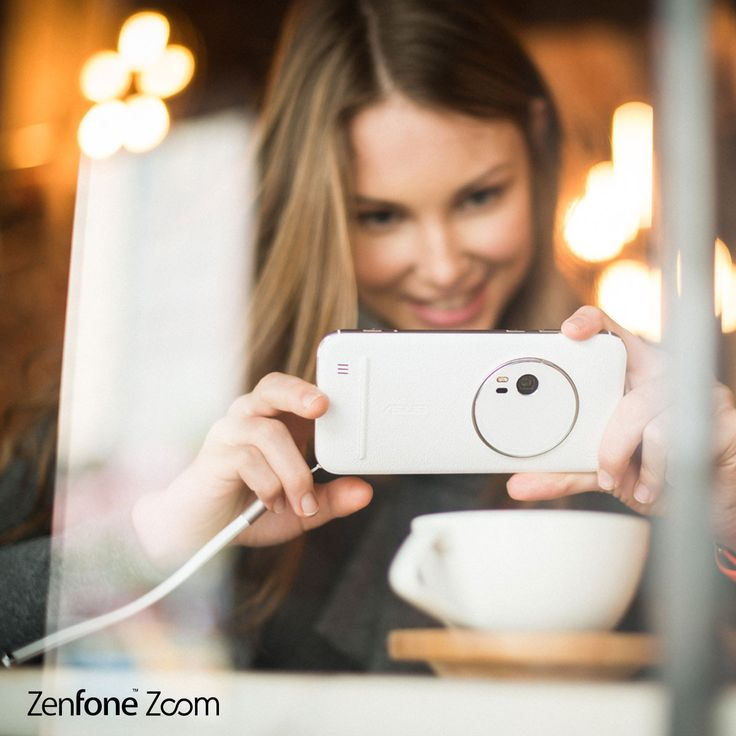 Feel the secure leather in your hand & DSLR-like 3X optical-zoom action at your command. Take charge with the reliably perfect #ZenFone Zoom.