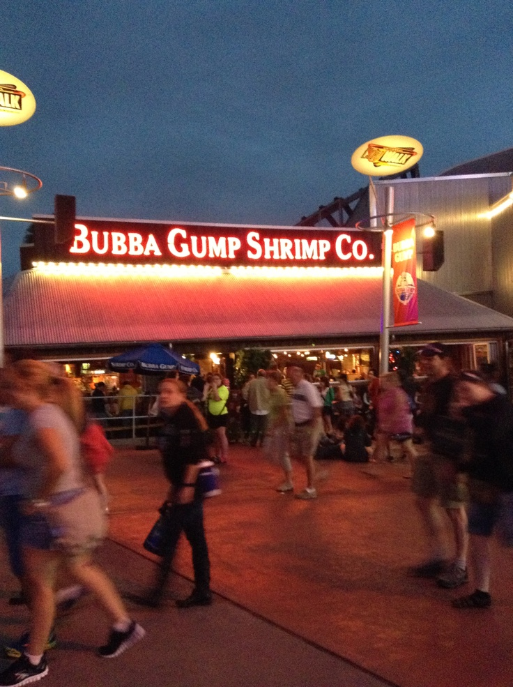 bubba gump shrimp orlando