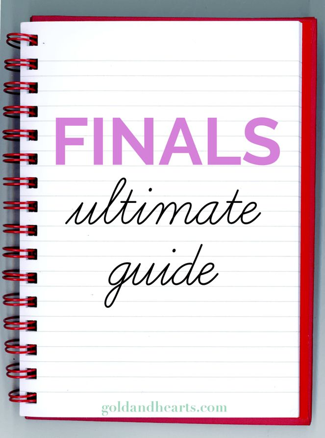 Finals | Ultimate Guide