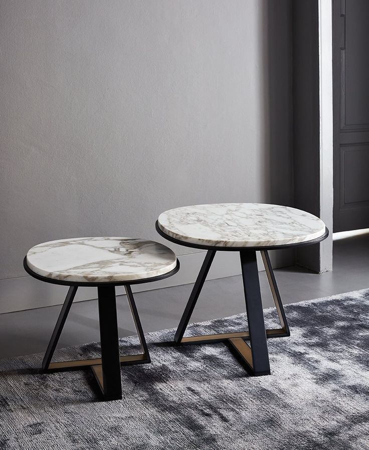 beatiful side tables from the salone del mobile 2015 exhibit #interiors #decor