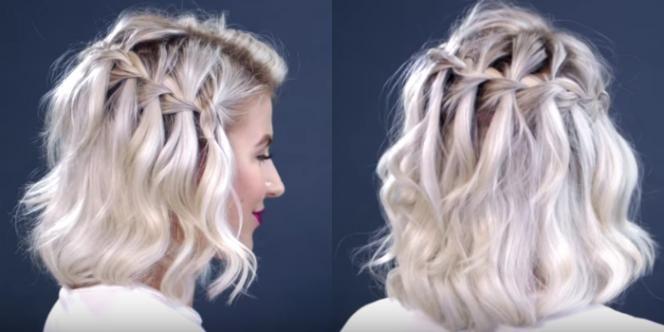 Trança cascata em cabelo curto: passo a passo em vídeo para conseguir fazer sozinha - Bolsa de Mulher