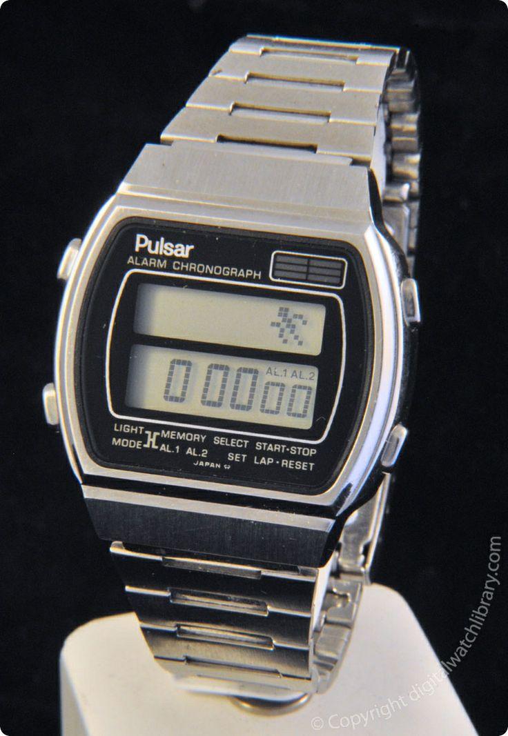 pulsar y771 4009 melody vintage digital