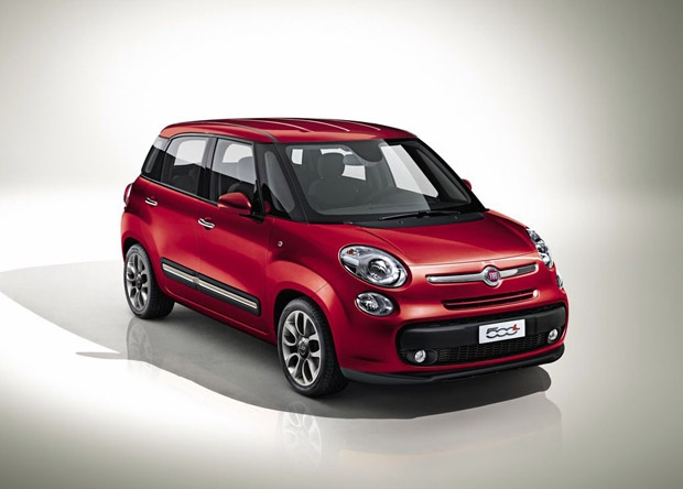New Fiat 500 Large - in Europe next autumn