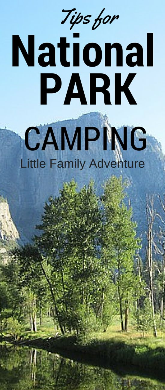 Tips for Camping National Parks - Camping is a wonderful family vacation and the national parks offer a variety of breath taking locations. Get outdoors with your family and explore them. Use our tips and have a great family adventure! Plus enter to win in our #KidsToParks #Giveaway #FindYourPark