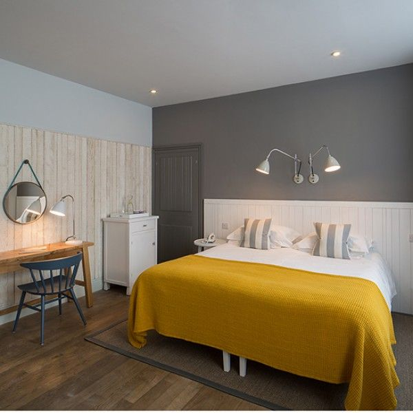 Watergate boutique hotel style bedroom scheme