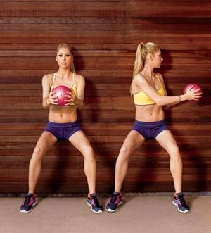 4 Ab Attacking Medicine Ball Workouts for the Mommy Pouch