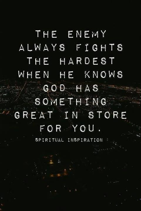 God has something great in store
