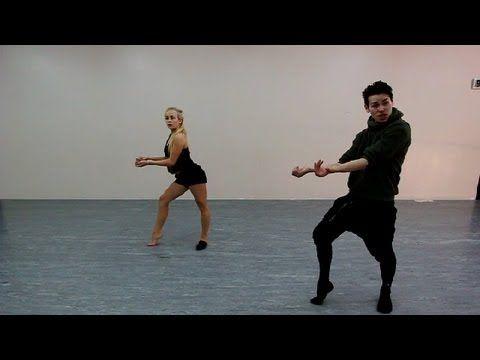 Ricky Palomino dance combo/routine (Mather Dance Company online class #3)