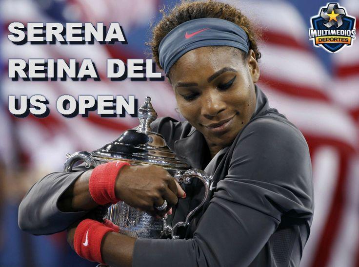 Serena Williams Campeona del US Open 2013 Foto: Reuters
