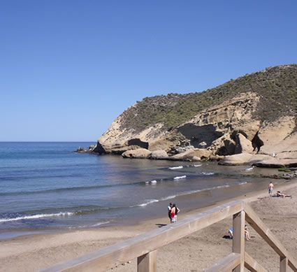 Playa Carolina, one of the secret beaches of Pulpi...