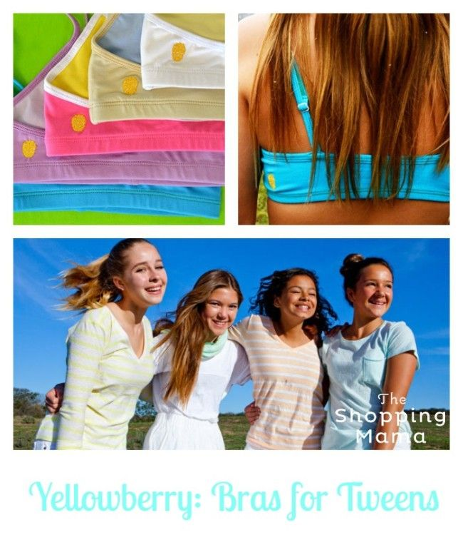 Yellowberry: Bras for Tweens, Created by a Teen | The Shopping Mama