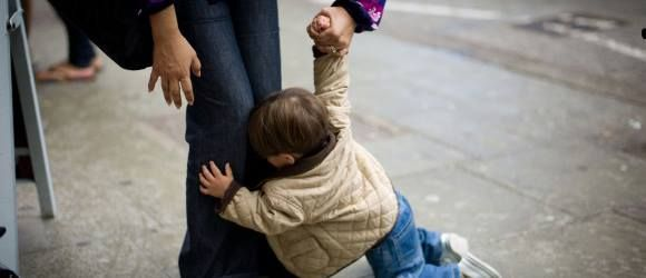 We may not all be parents, but we have all seen some poor, sleep deprived soul trying to persuade their child to get off the floor before.  Luke Denham perfectly describes a tantrum in here:http://www.westendmagazine.com/the-collective-parent-the-tantrum/