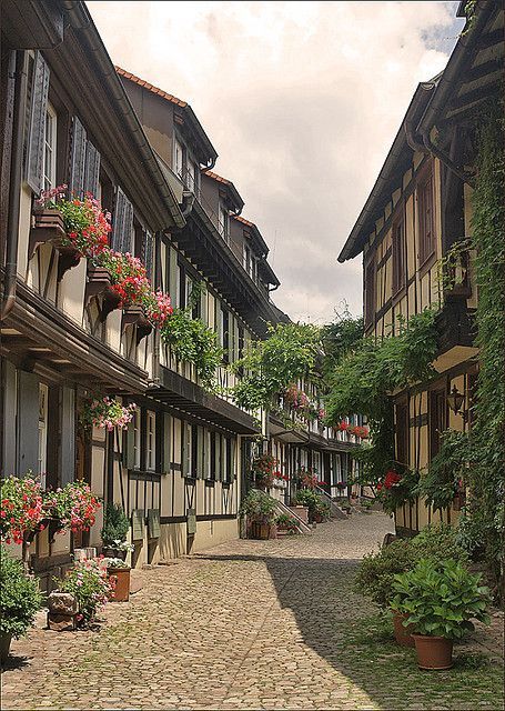 "Gengenbach is a small town (11,200 inhabitants) on the western edge of the Black Forest, Baden-Württemberg, Germany. The town has a beautiful, traditional, medieval-era, old-historical influenced old town (""Altstadt"") with picturesque colourful timber framed houses."