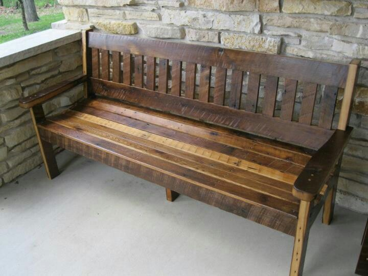 rough sawn oak barn wood bench barn wood projects