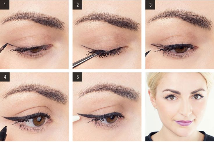 3. Per realizzare una riga di eyeliner impeccabile, parti da una linea sottile.    In questo modo è molto più facile e non rischi di sbagliare.  -cosmopolitan.it